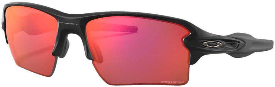 Oakley Flak 2.0 XL Prizm Trail Torch Sunglasses, M Matte Black