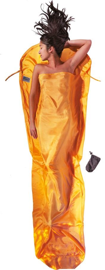 Cocoon MummyLiner Silk Ultralight Sleeping Bag Liner, Sunset