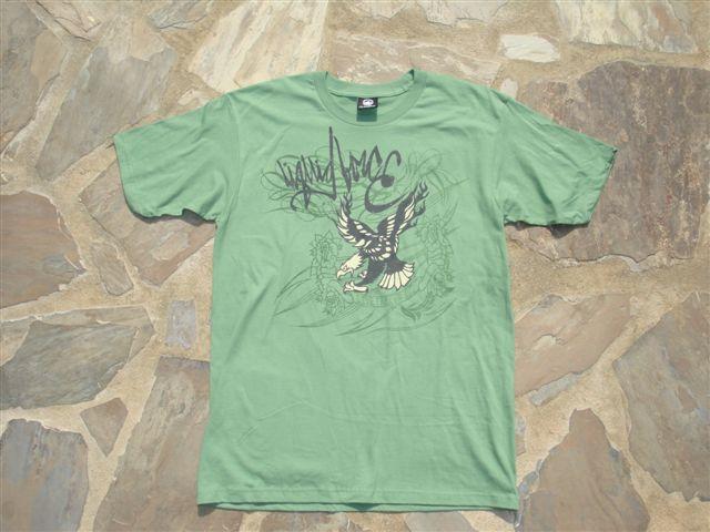 Liquid Force Eagle SS Knit T Shirt M Green