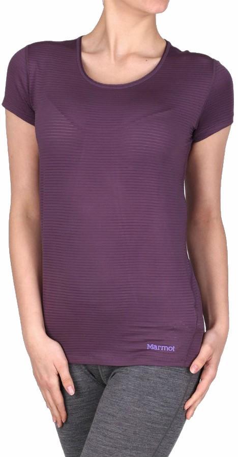 Marmot Aero Women's SS T-Shirt, XS Vintage Violet