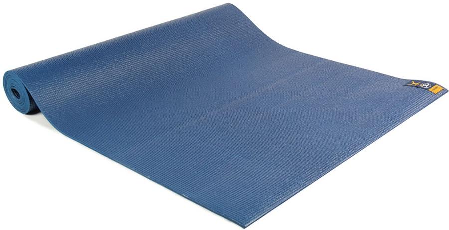 Yoga Mad Warrior II Yoga/Pilates Mat, 4mm Dark Blue