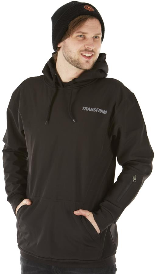 Transform Se12 Softshell Technical Hoodie, XL Black