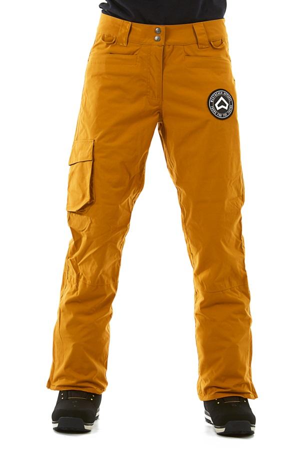 Westbeach Devotion Women's Ski/Snowboard Pants, S Brown Sugar