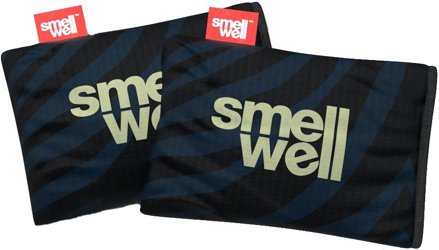 SmellWell Active Freshener Inserts Odour Eliminator, Black Zebra