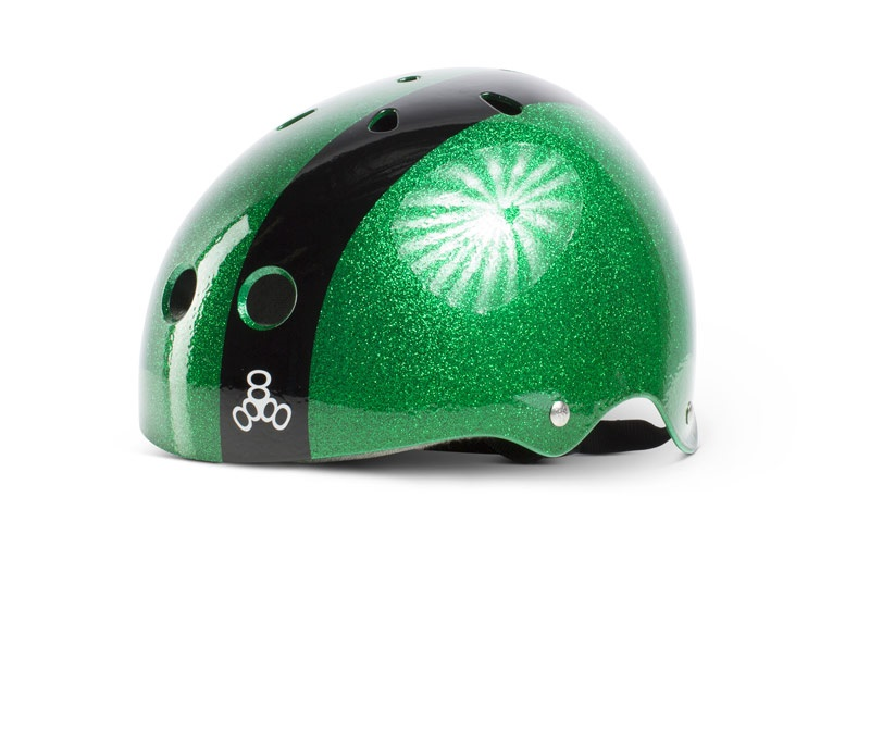 Liquid Force FLASH Wakeboard Helmet, XL Green Metal