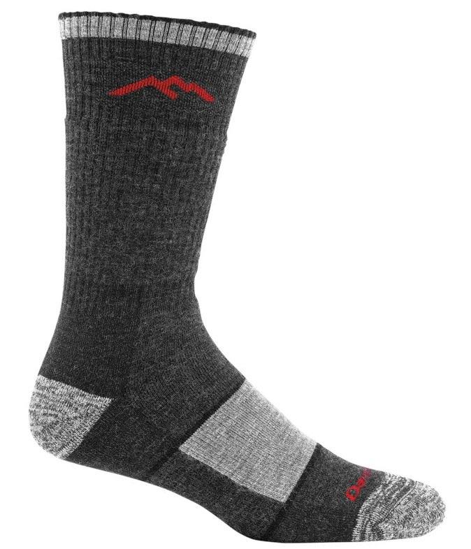 Darn Tough Adult Unisex Hiker Boot Full Cushion Hiking Socks, M Black