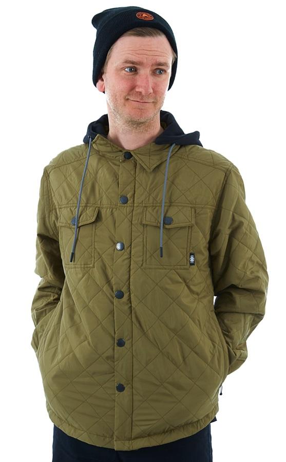 Saga Workwear Ski/Snowboard Insulated Jacket, L Olive