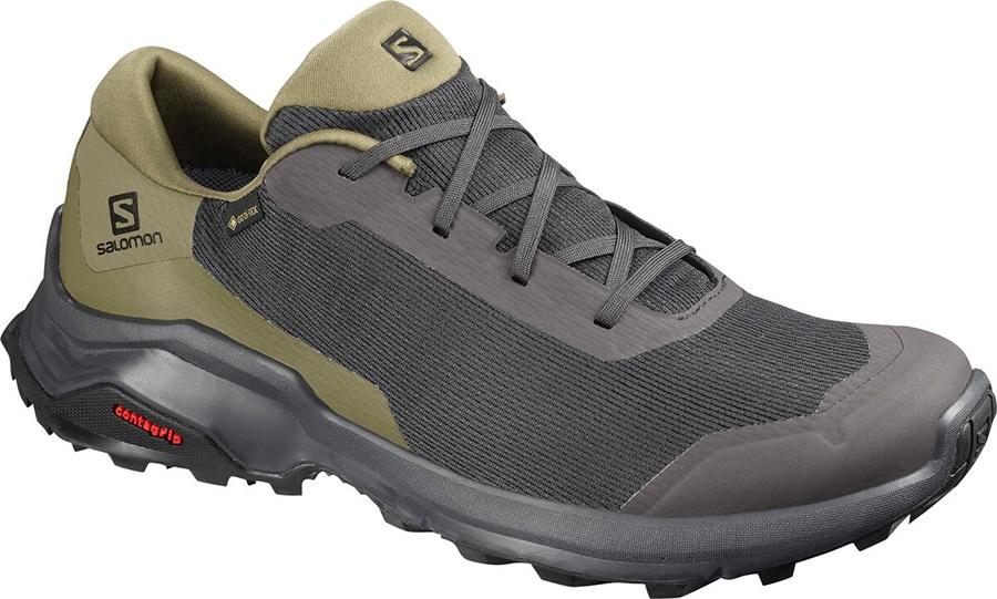 Salomon X Reveal Gore-Tex Hiking Shoes, Uk 11 Phantom/Burnt Olive