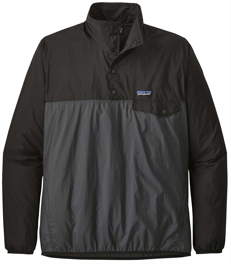 Patagonia Adult Unisex Houdini Snap-T P/O##OTHER#, S Forge Grey