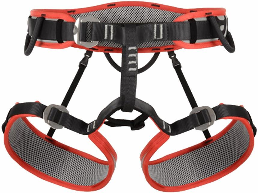 DMM Renegade Men's Rock Climbing Harness L Red/Grey