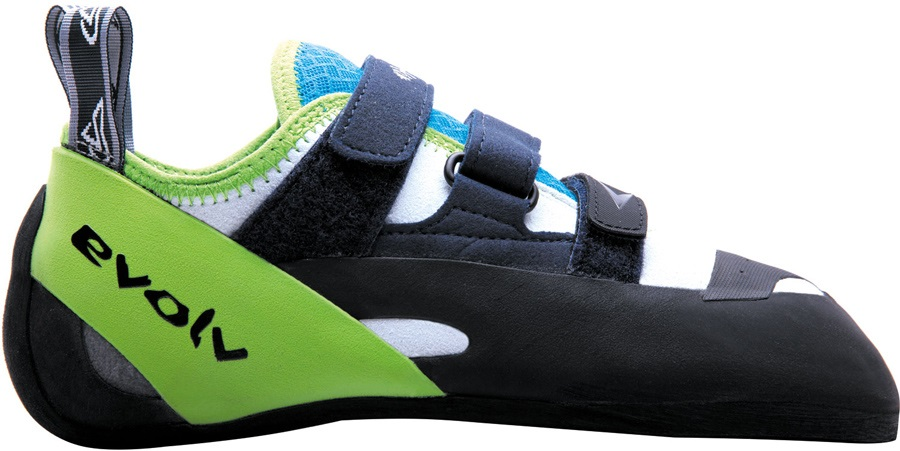 Evolv Supra Rock Climbing Shoe UK 8 | EU 42 Neon Green