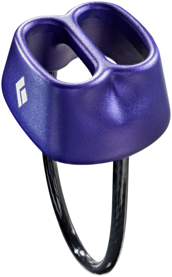 Black Diamond ATC Rock Climbing Belay Device Purple