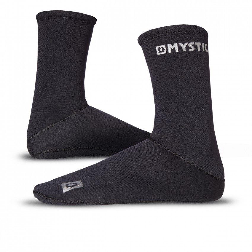 Mystic Neoprene Semi Dry Socks, XL Black 2021