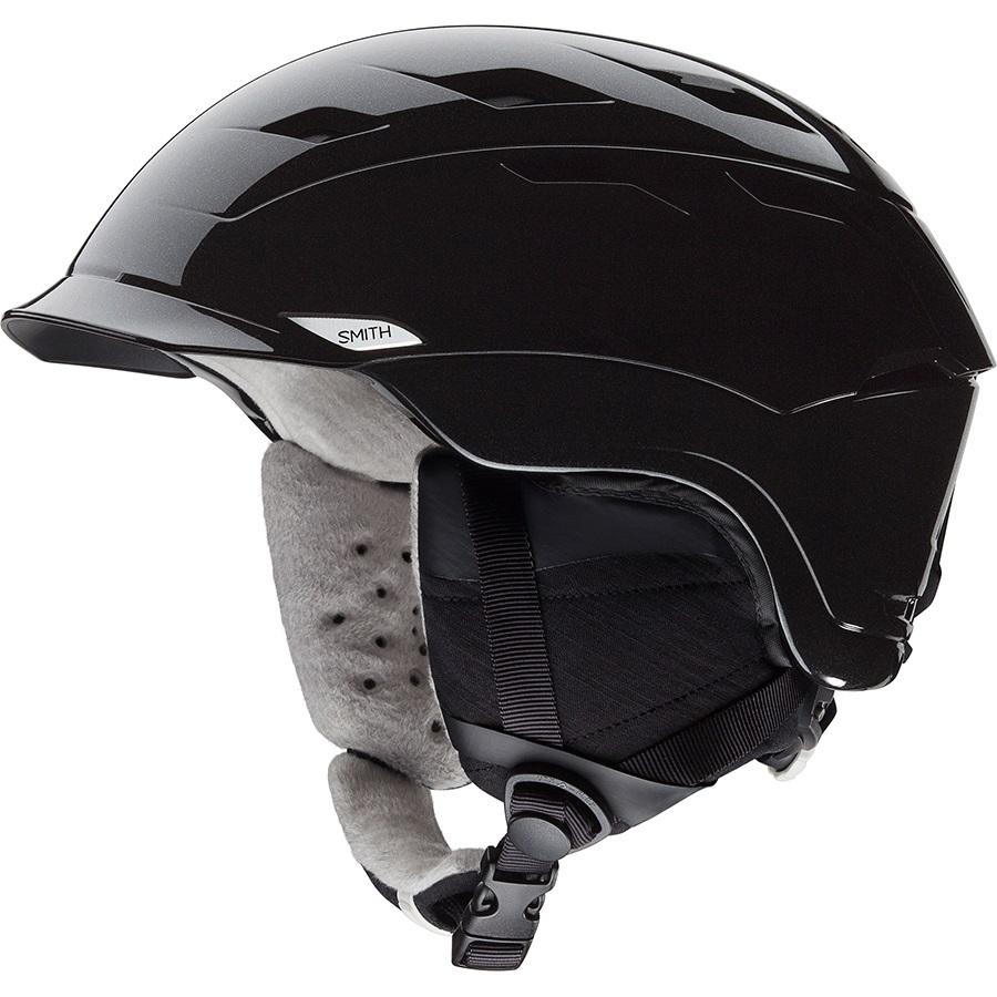Smith Valence Women's Snowboard/Ski Helmet S Black Pearl