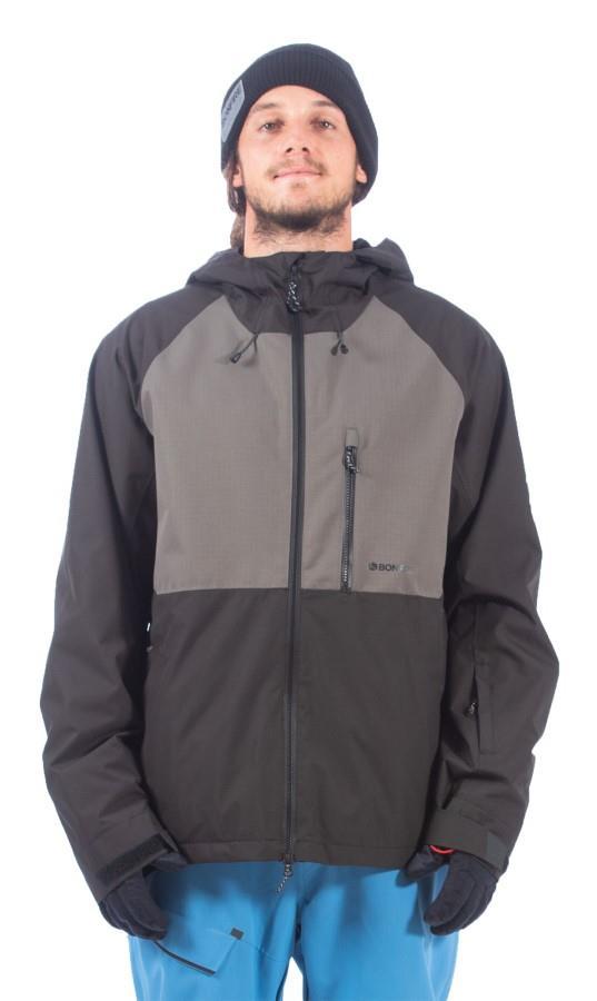 Bonfire Pyre Shell Ski/Snowboard Jacket, L Black