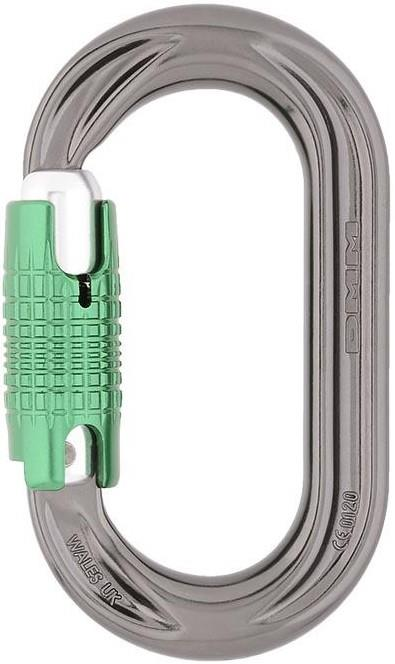 DMM Perfect0 Oval Locksafe Rock Climbing Carabiner, One Size Green