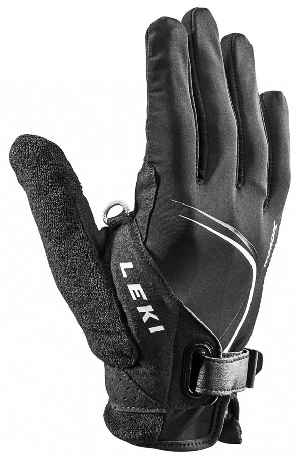 Leki Nordic Lite Shark Long Nordic/Trekking Pole Gloves, XS Black