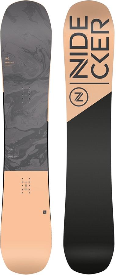 Nidecker Angel Women's Hybrid Camber Snowboard, 151cm 2021