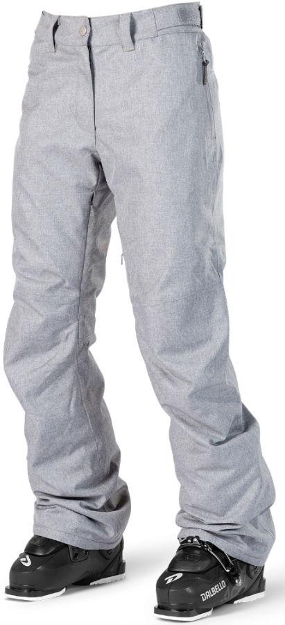 Wearcolour Fine Women's Ski/Snowboard Pants XS Grey Melange
