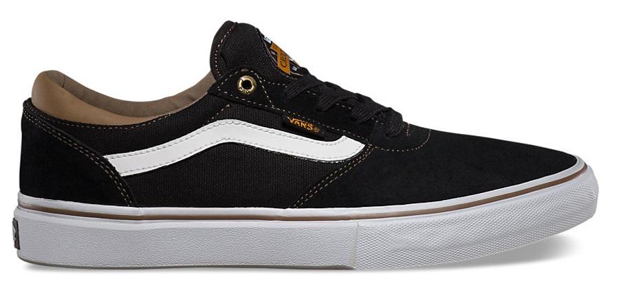 Vans Gilbert Crockett Pro Skate Shoes UK 8 Black
