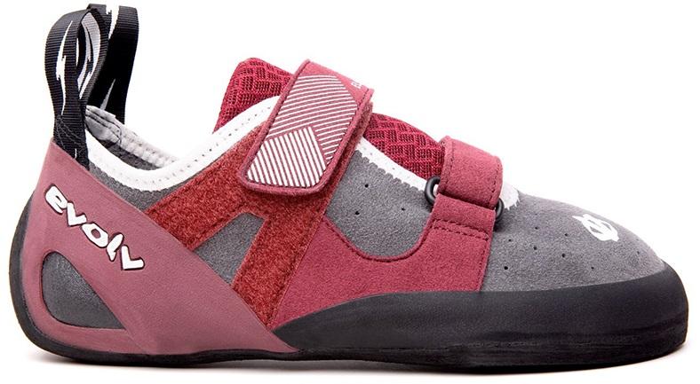 Evolv Adult Unisex Elektra Vtr Rock Climbing Shoe, Uk 4.5 | Eu 37.5 Merlot/Grey