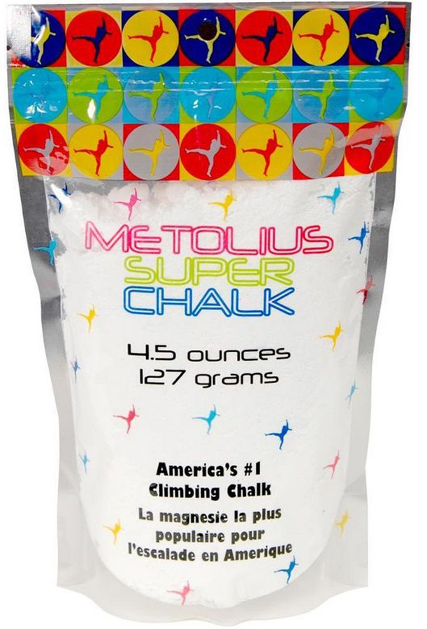 Metolius Super Chalk Rock Climbing Chalk, 127g