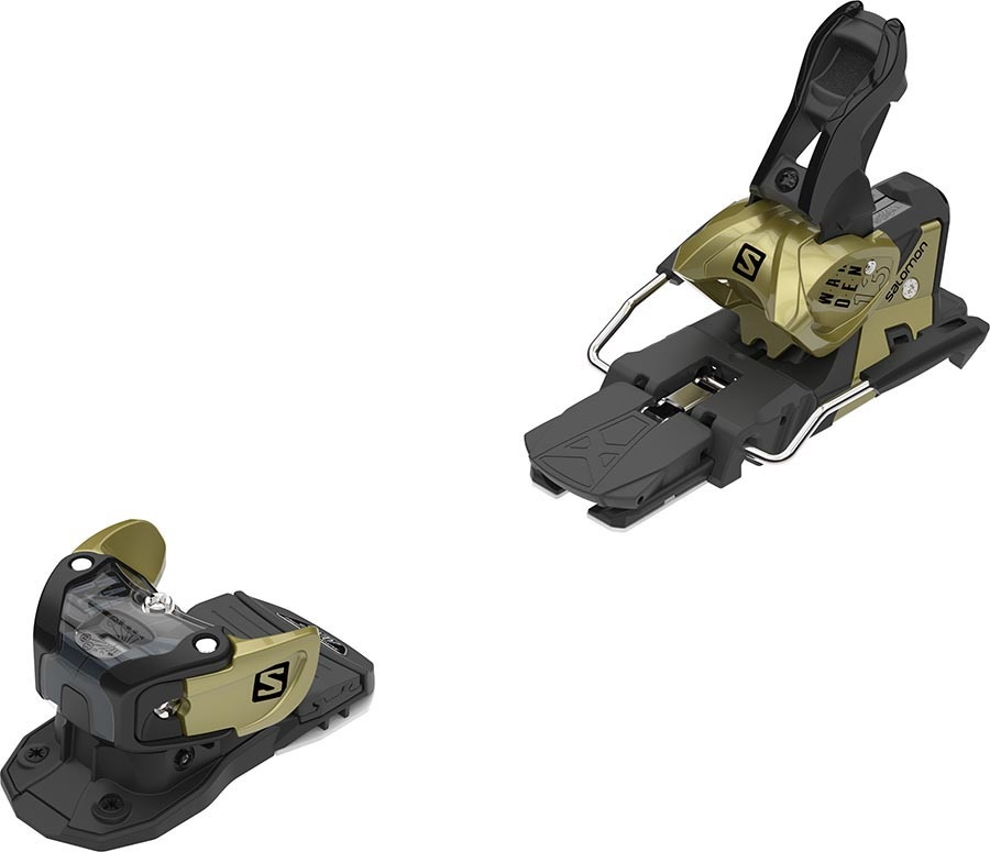 Salomon Warden MNC 13 Ski Bindings, 115mm Gold