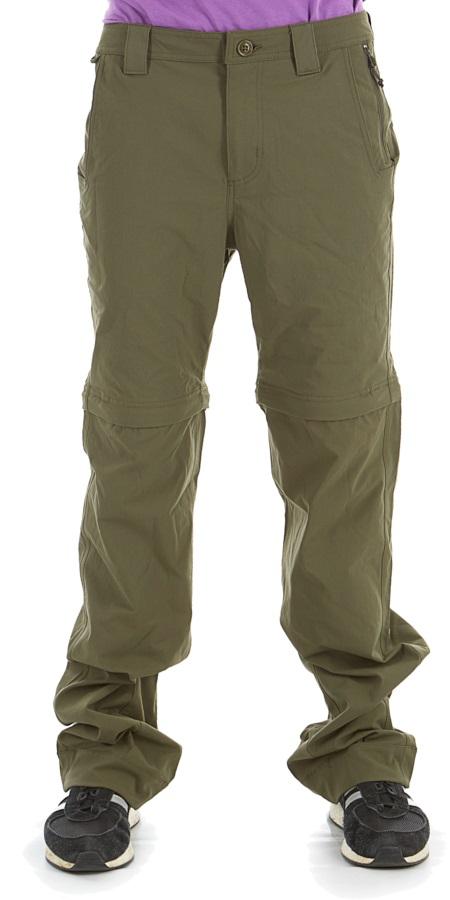 Filson Lightweight Convertible Trekking Pants/Shorts, 34 Evergreen