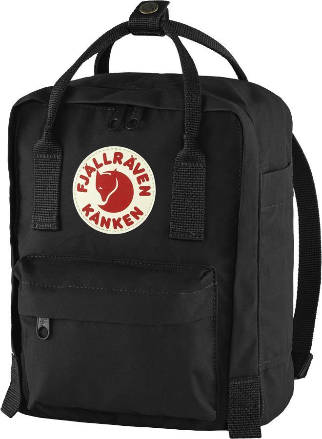 Fjallraven Kanken Mini Daypack/Backpack, 7L Black