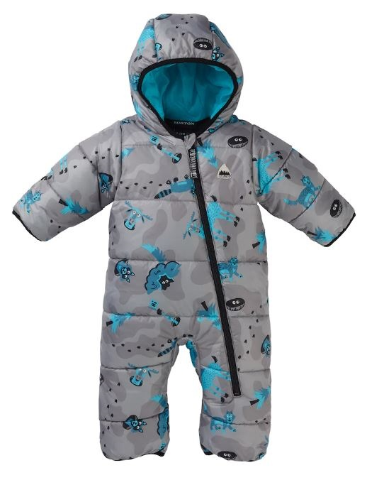 Burton Buddy Bunting Infant Ski/Snowboard Suit, 6-12 M Hide and Seek