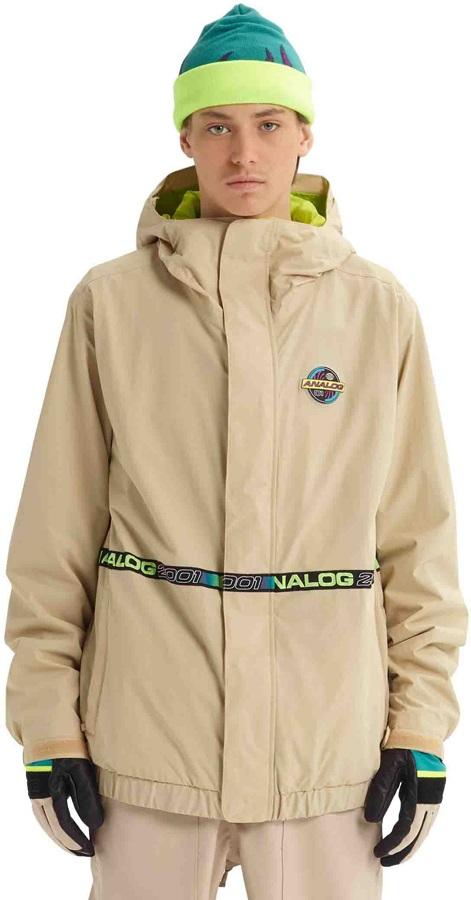 Analog Blast Cap Ski/Snowboard Jacket L Safari