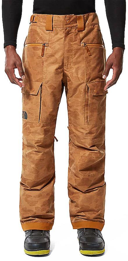 The North Face Slashback Cargo Ski/Snowboard Pants M Timber Tan