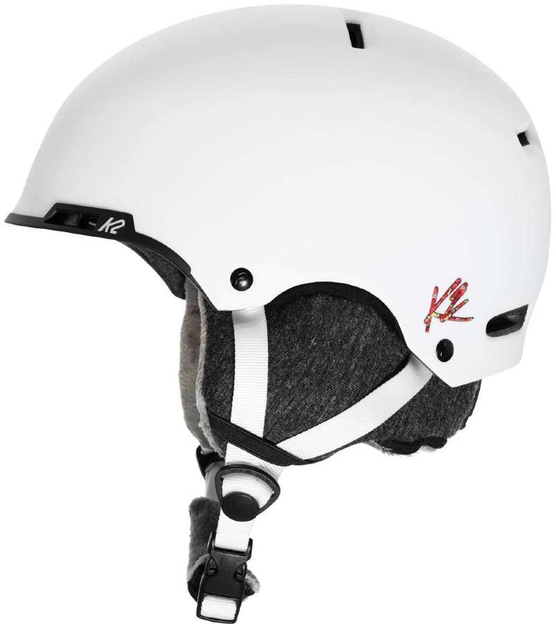 K2 Meridian Women's Snow/Bike Helmet, M White
