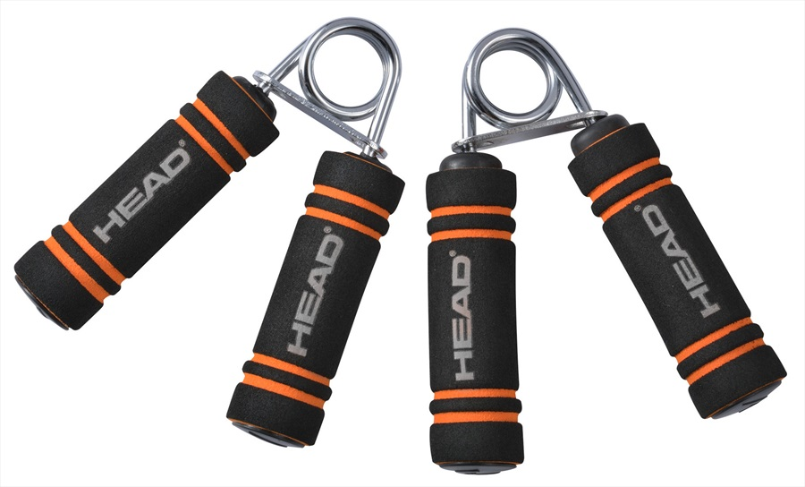 Head Strengthening Exercise Hand Grips, One Size Black