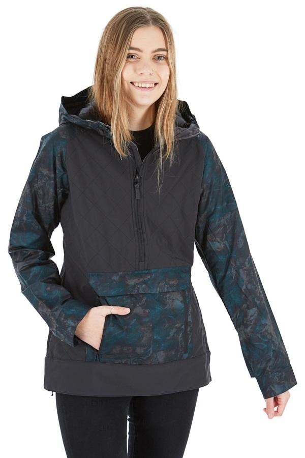 Dakine Pollox Softshell Women's Ski/Snowboard Jacket, S Black/Madison