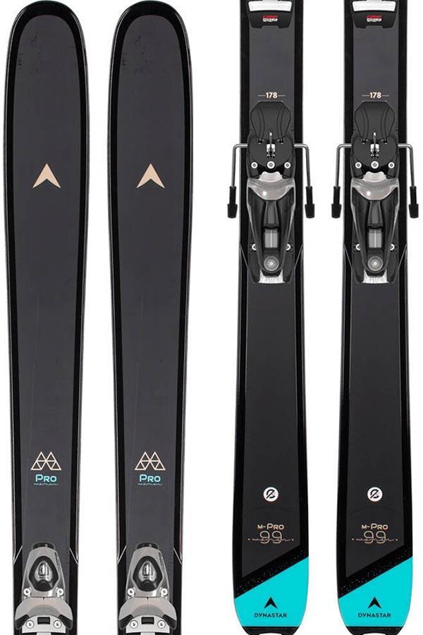 Dynastar M-Pro 90 W NX 11 GW Women's Skis, 154cm Black/Blue 2022