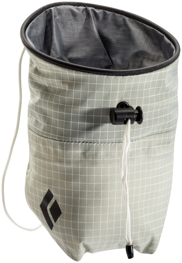 Black Diamond Ultralight Rock Climbing Chalk Bag Medium, White