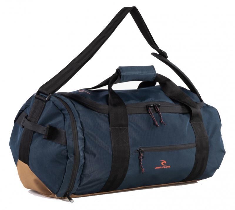 Ripcurl Packable Hyke Travel Duffel Bag, 35L Navy