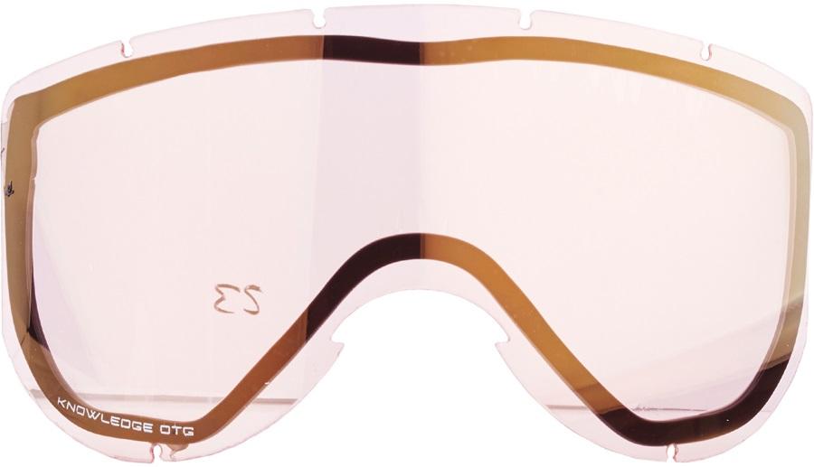 Smith Knowledge Turbo Fan Snowboard/Ski Goggle Spare Lens, Gold Sensor