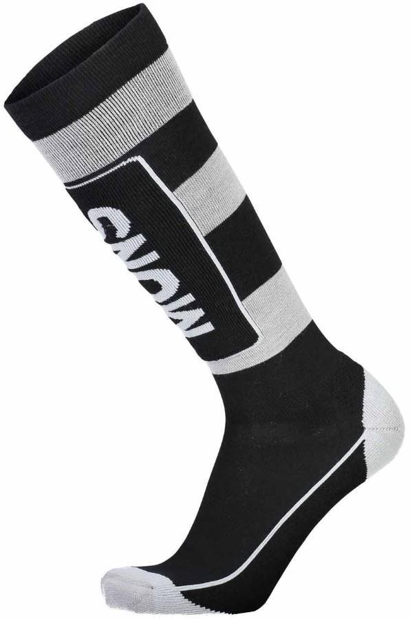Mons Royale Mons Tech Cushion Men's Ski/Snowboard Socks S Black/Grey