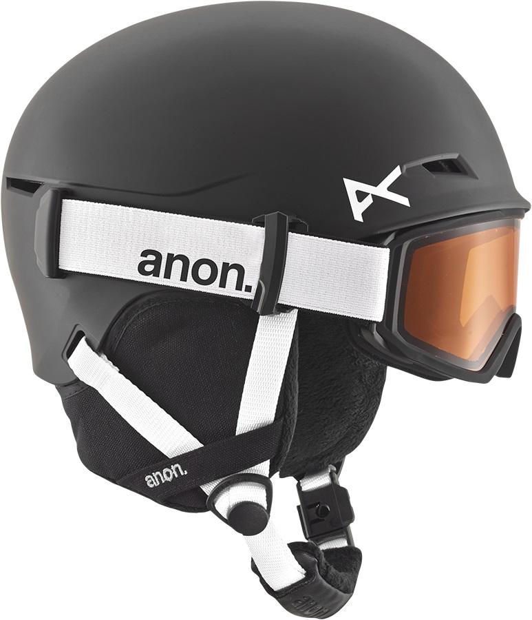 Anon Define Kid's Ski/Snowboard Helmet L/XL Black