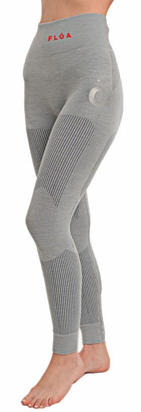 Floa Backcountry Baselayer Legging, S/M Silver