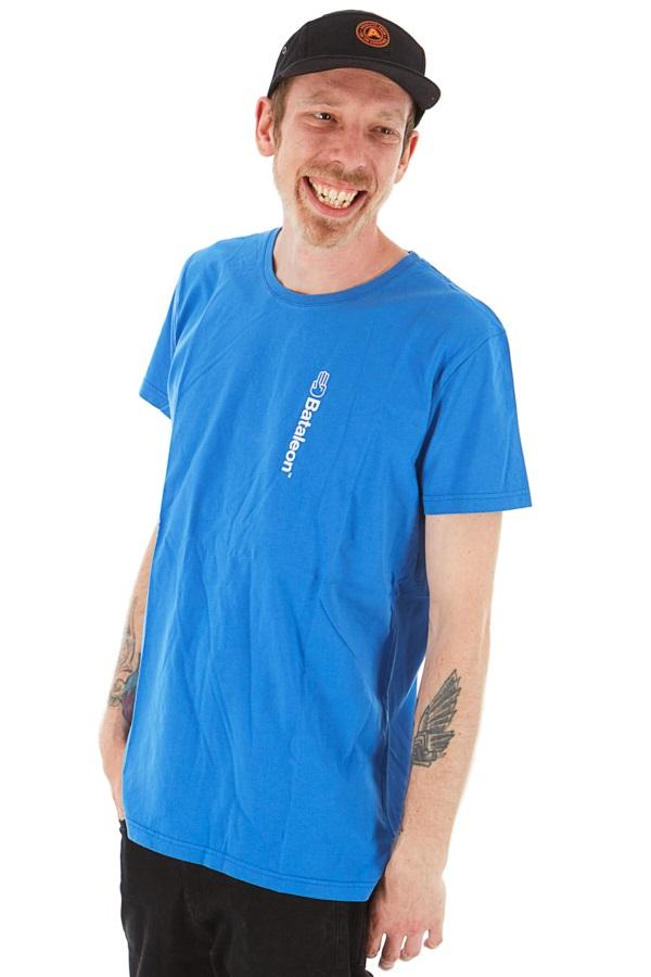 Bataleon Adult Unisex Logo Vert T-shirt, S Strong Blue