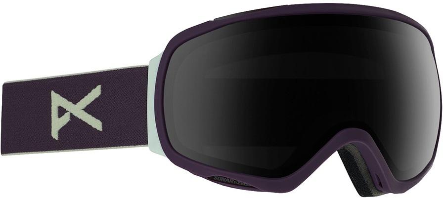 Anon Tempest Sonar Smoke Women's Ski/Snowboard Goggles, S/M Purple