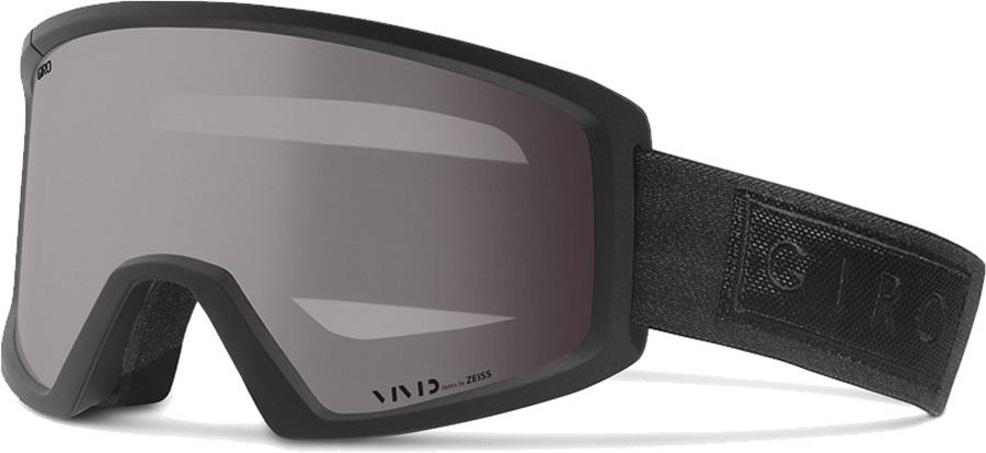 Giro Blok Vivid Onyx Ski/Snowboard Goggles, L Black Bar