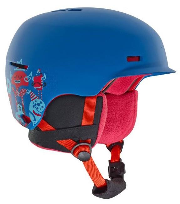 Anon Flash Kid's Ski/Snowboard Helmet, L/XL Party Blue
