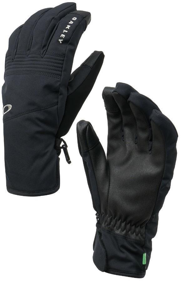 Oakley Roundhouse Short, Ski/Snowboard Gloves, XL, Blackout