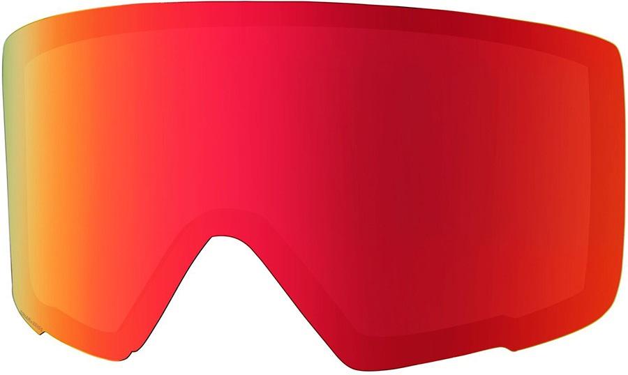 Anon M3 Ski/Snowboard Goggles Spare Lens, Sonar Red