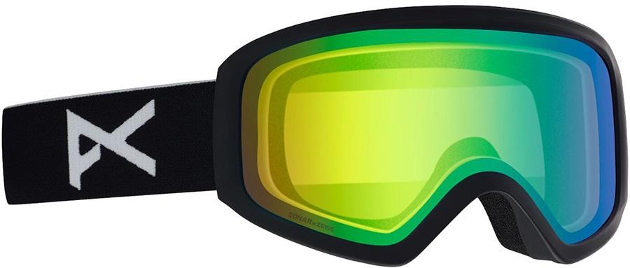 Anon Insight Sonar Green Women's Ski/Snowboard Goggles, S/M Black