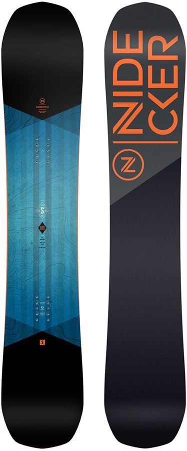 Nidecker Score Hybrid Camber Snowboard, 152cm 2021